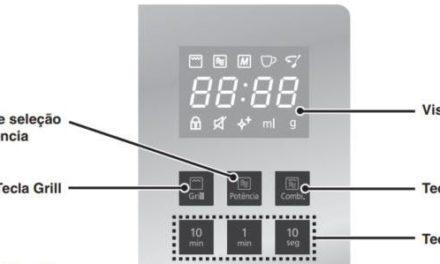 Como Ajustar a Potência do Microondas Panasonic