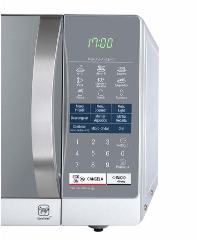79e9b1e36 Como ajustar o relógio do microondas da marca LG - Modelos