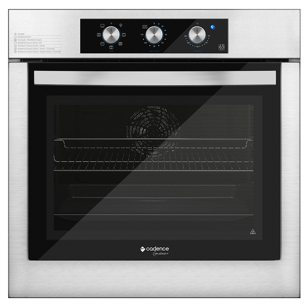 Forno Elétrico Cadence de Embutir Gourmet 65 L - FOR650