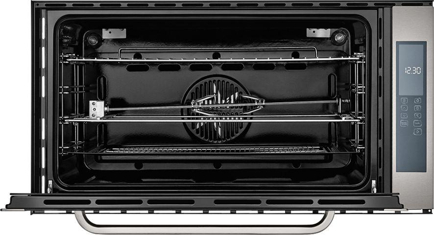 Forno Elétrico Brastemp Gourmand de Embutir 105 litros - BOC90 - aberto