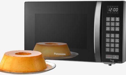 Como ajustar o relógio do Microondas Panasonic 30 lts com Grill – GT68H