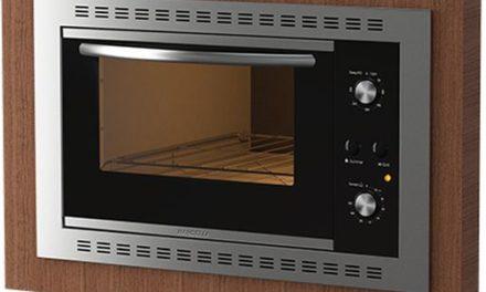 Como limpar o forno elétrico de embutir Nardelli 45L – N450
