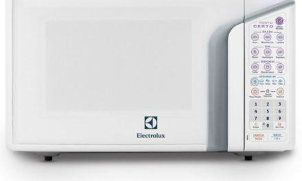 Como ajustar a potência do Microondas Electrolux 31 lts Ponto Certo Branco – MEP41