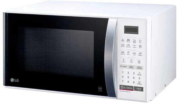 Microondas LG 23L Easy Clean Branco MS2355R(A)
