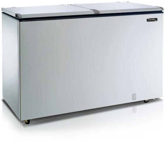 Freezer Esmaltec Horizontal Branco EFH-500