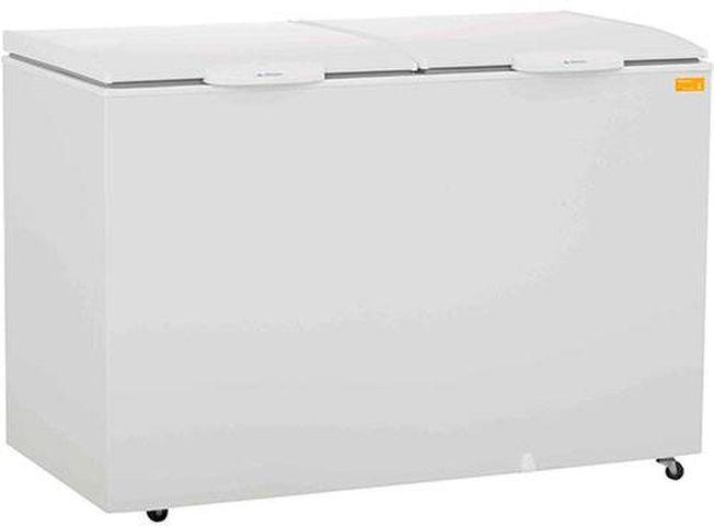Freezer Gelopar Horizontal Dupla Aão GHBA-410S