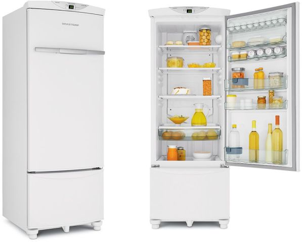 Geladeira Brastemp All Refrigerator 330 litros Branco BRF36GB