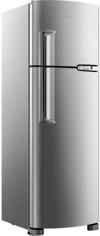 Geladeira Brastemp Frost Free Duplex 378 litros Inox BRM42EK