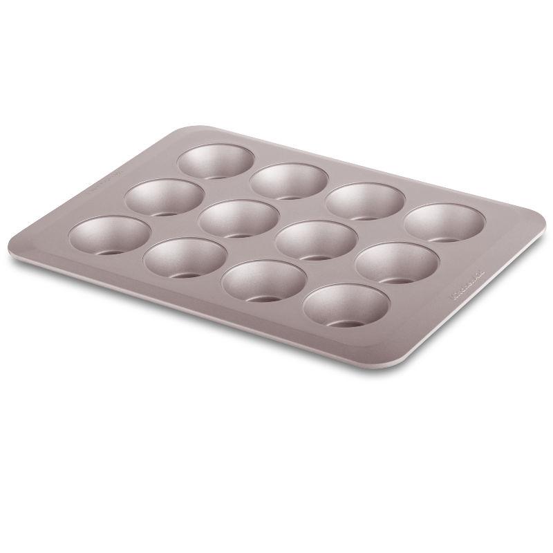 Forma para 12 bolinhos em Aço Aluminizado Classic com Antiaderente KitchenAid