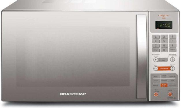 Manual de Instruções do Microondas Brastemp 38L – King Size – BMX40