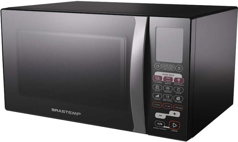 Como ajustar o relógio do micro-ondas Brastemp - BMK45 - 30 litros