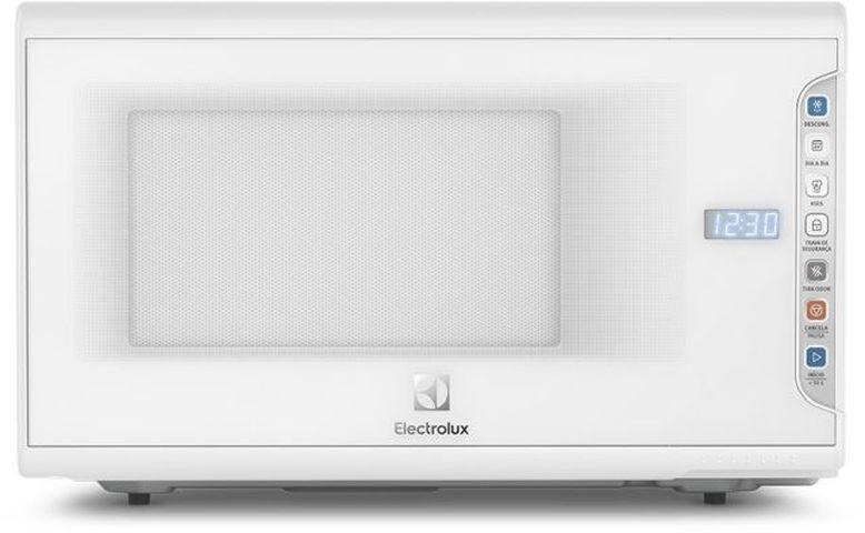 Como ajustar o relógio do Microondas Electrolux 31 litros Painel integrado MI41T