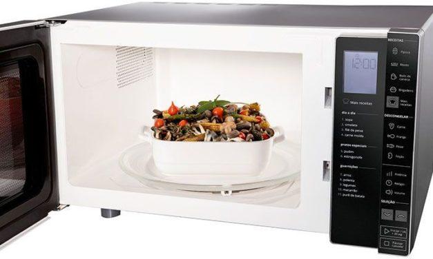 Como preparar receita programada no microondas Brastemp 32L – BMS45