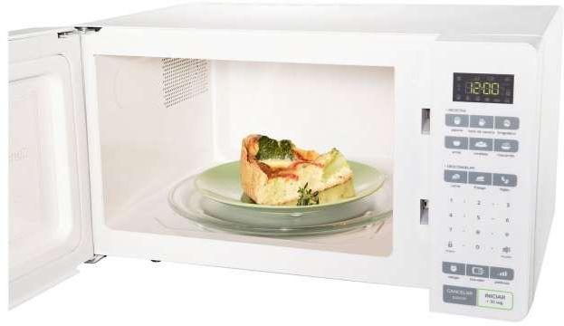 Microondas Consul 32 litros Branco CMS45AB culinaria