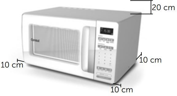 Microondas Consul 32 litros CMS45AB Instalação