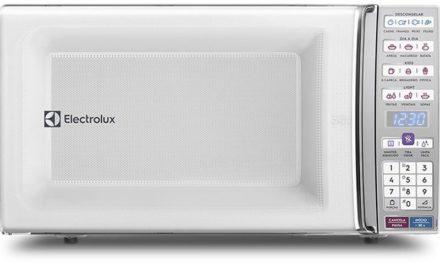 Medidas do Microondas Electrolux 34 litros com Tira odor MEO44