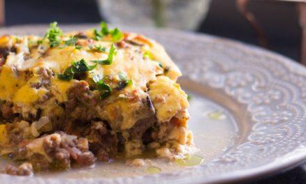 Lasanha Grega – Moussaka – Conheça a receita da culinária grega