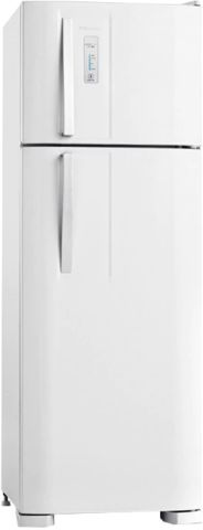 Medidas da Geladeira Electrolux 310 litros Frost Free Branco - DF36A