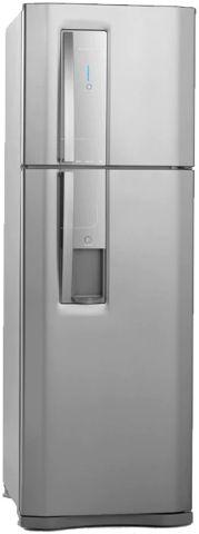 Medidas da Geladeira Electrolux 380 litros Frost Free Inox - DW42X