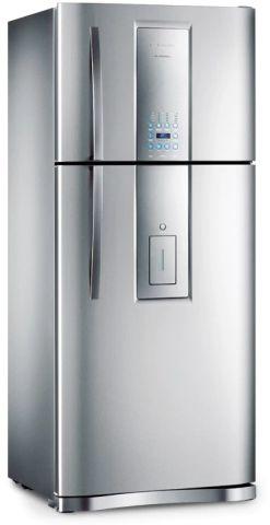 Medidas da Geladeira Electrolux 542 litros Frost Free Infinity Inox - DI80X