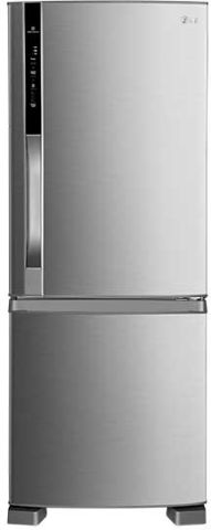 Geladeira Bottom Freezer LG Fresh & Light 423L, Aço Escovado GB42