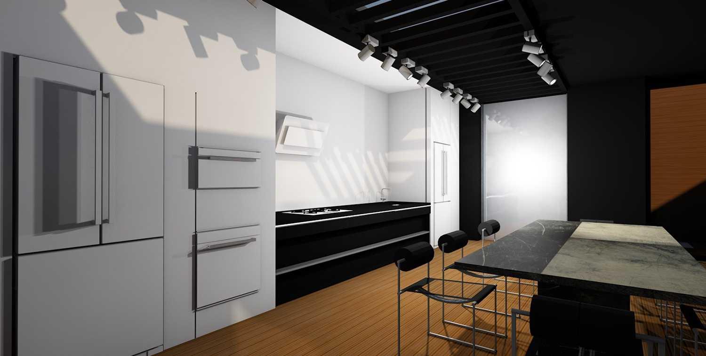 Studio Leo Mancenido - Leo Mancenido - Cozinha Planejada Brastemp Vitreous