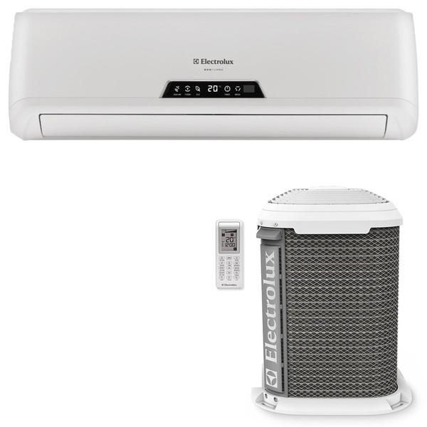 Ar Condicionado Electrolux Eco Turbo VI07R/VE07R Split High Wall 7000 BTUs Quente/Frio