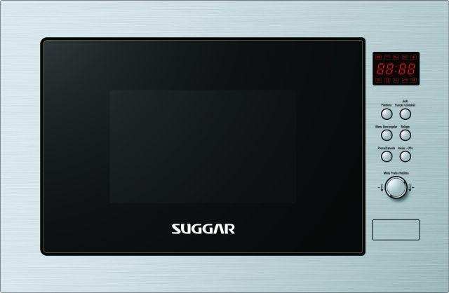 Microondas Suggar 25L de Embutir com Grill MO2521IX