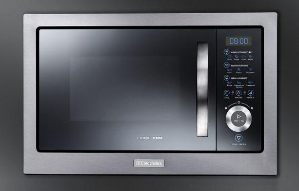 Microondas Electrolux 28L Home Pro de Embutir Inox MB38X