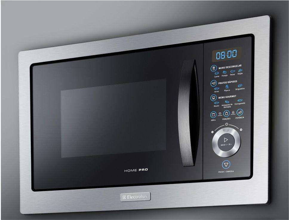Microondas Electrolux 28L Home Pro de Embutir MB38X