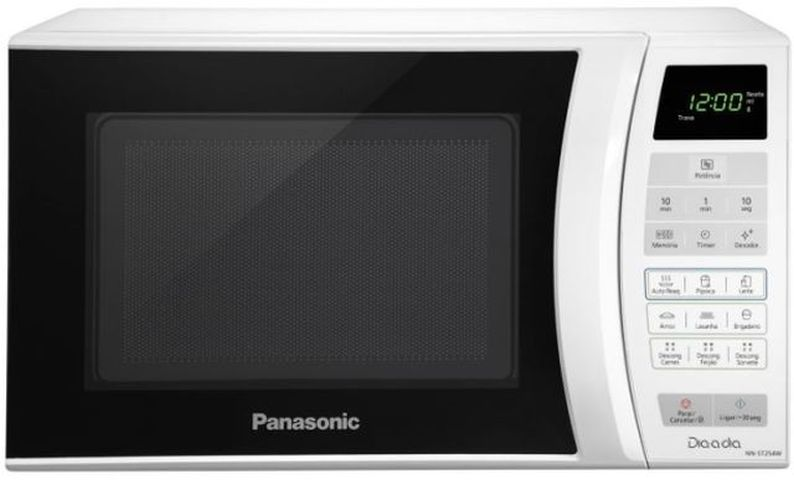 Como descongelar alimentos com microondas Panasonic