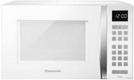 Como ajustar o relógio do Microondas Panasonic 32 lts Style Branco – ST654