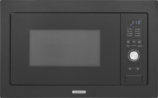 Microondas Tramontina 25L de Embutir Glass 60
