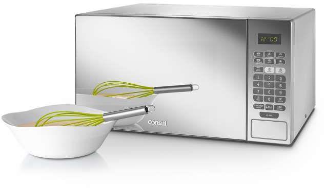 Micro-ondas Consul Espelhado 30L com Grill CMA30