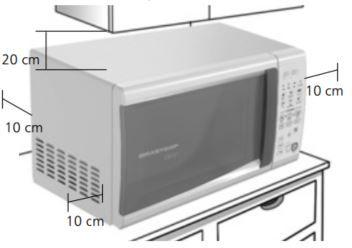 Microondas Brastemp 20L BMC20 - Instalação