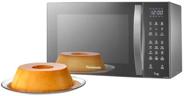 Microondas Panasonic 30L Style Grill Inox NN-GT696SRU