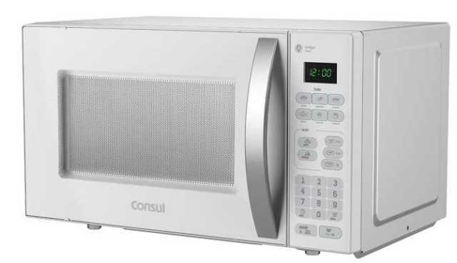 Micro-ondas Consul 20L Branco com Puxador na porta CMA20