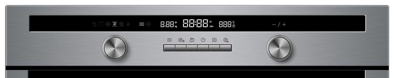 Microondas CrissAir CFM94G3 - painel Controle