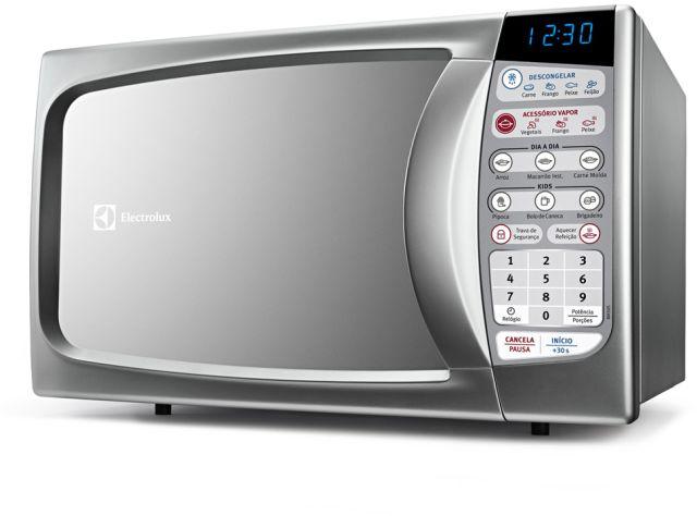 Microondas Electrolux 20L Silver Vapor MA30S