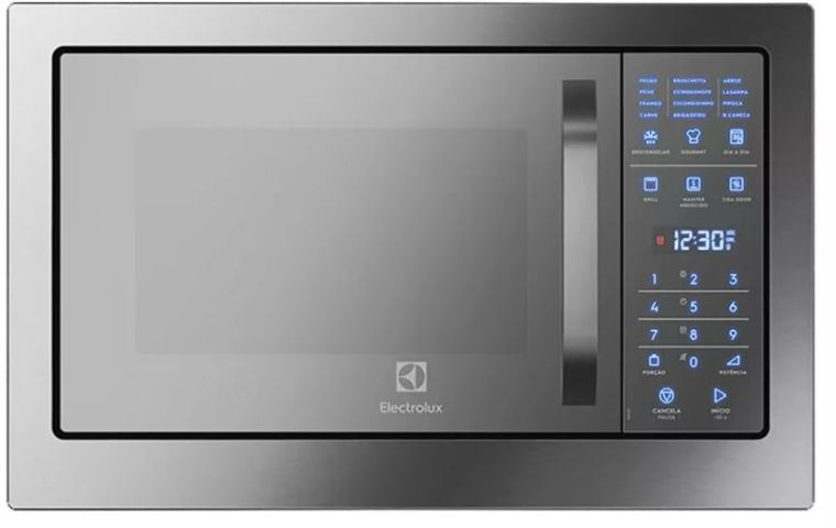 Microondas Electrolux 28 litros de Embutir Inox MB38T