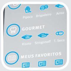 Microondas Electrolux 31L MEC41 - Menu