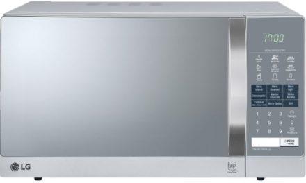 Microondas LG 30L Easy Clean Prata e Espelhado com Grill MH7057Q(A) – Conheça o modelo em detalhes