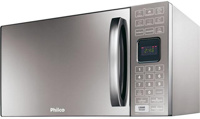 Microondas Philco 25L Porta Espelhada PME25