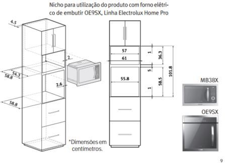 Electrolux MB38X - Nicho duplo