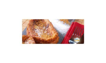Receita para microondas – Rabanada de forno light – Experimente esta receita no seu microondas