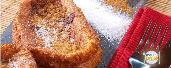Rabanada de forno light - Meu prato saudável