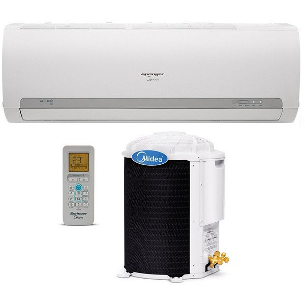 Ar Condicionado Springer Midea 42MACA09S5/38KCX09S5 Split High Wall 9000 BTUs Frio