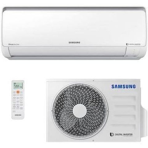 Ar Condicionado Samsung AR09HSSPBSN Split High Wall 9000 BTUs Quente/Frio