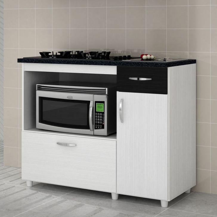 Balcão para cooktop e microondas 2 portas Benetil