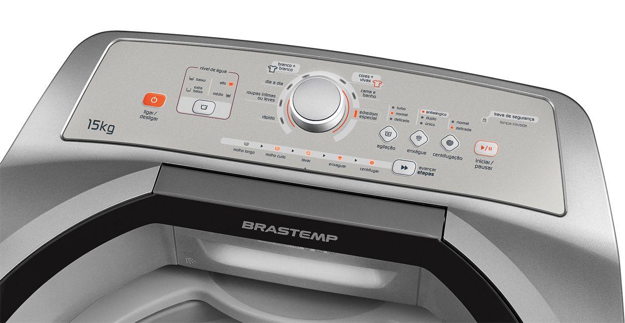 Lavadora de roupas Brastemp BWN15